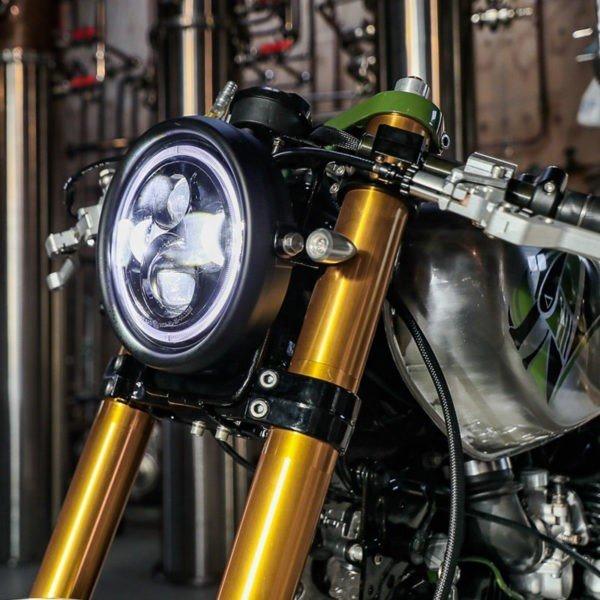 LED Indicators for Custom Motorcycle