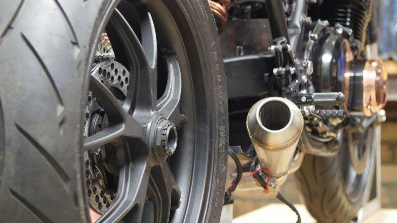 Custom Motorcycle Muffler Purpose Built Moto