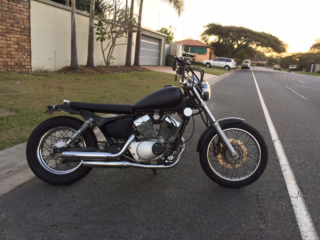 Cafe racer Gold coast Bobber