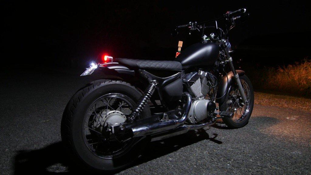 Bobber Yamaha XV250 Gold coast
