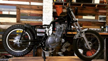 Scrambler build Gold Coast Suzuki