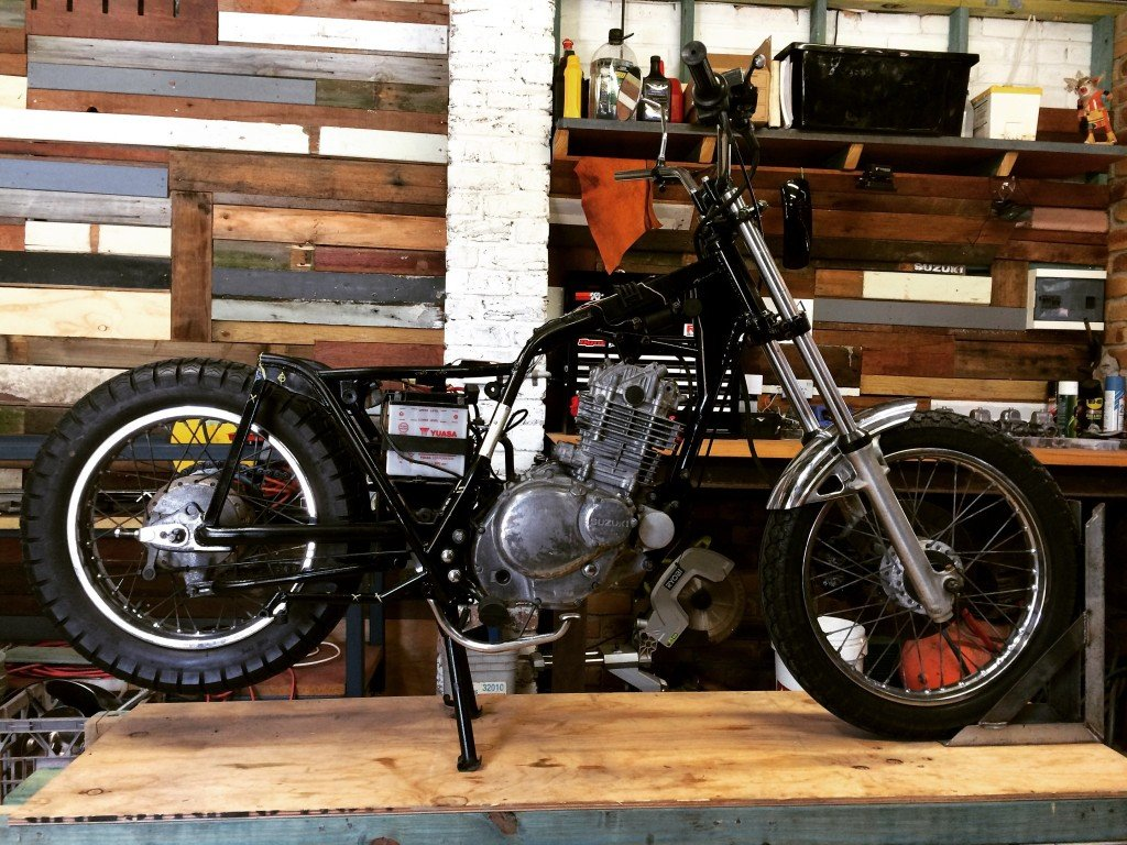 Project Bike Gold Coast Scrambler custom motorcycle