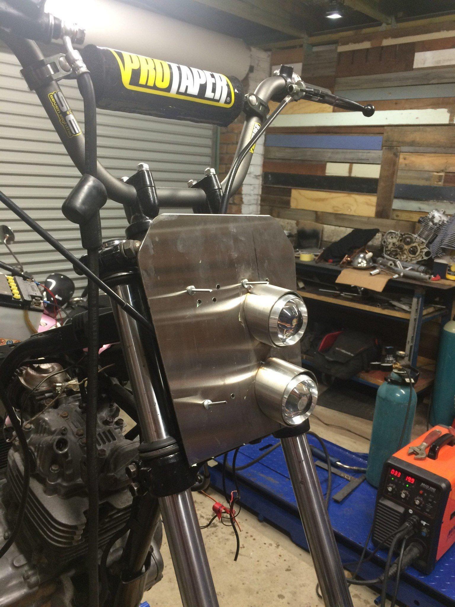 Custom fabrication scrambler