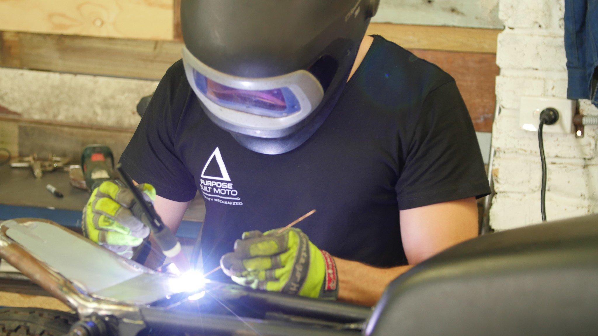 Tig welding Custom motorcycle gold coast
