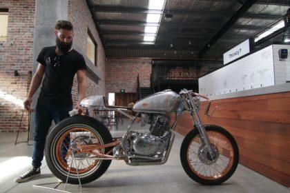 Custom motorcycle Gold coast Cafe racer