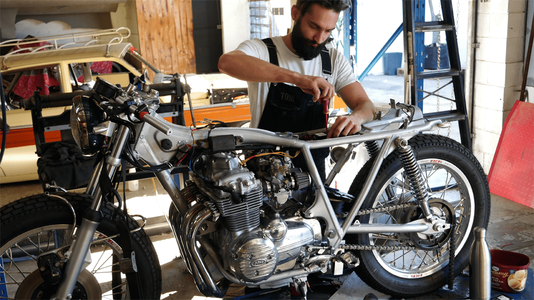 Wiring your Cafe Racer