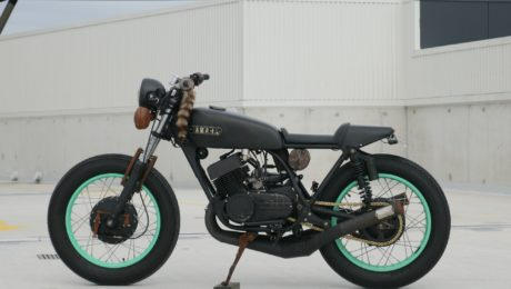 Cafe Racer Gold Coast Custom motorcycle australia 2 stroke bike