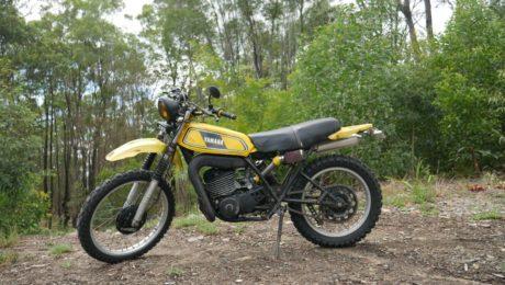 Vintage Yamaha Motocross enduro custom scrambler