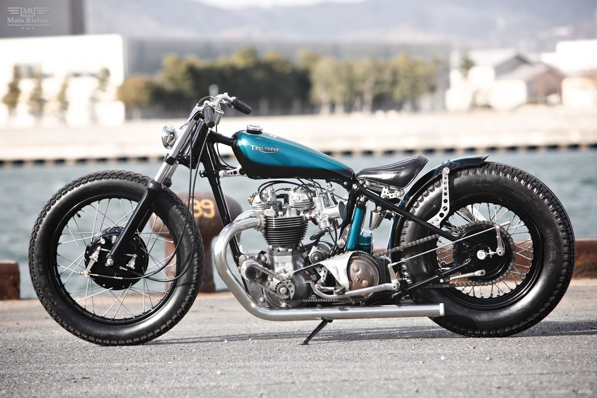 Japanese bobber Heiwa MC Japan
