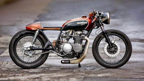 Cafe racer honda cb550 australia