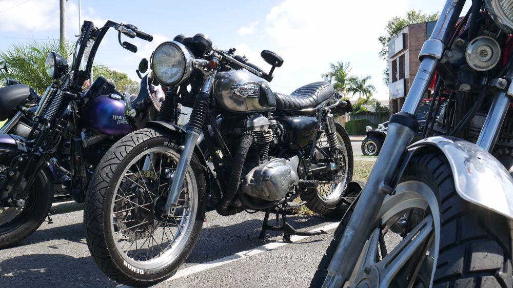 Kawasaki W650 Cafe Racer Australia moto dojo
