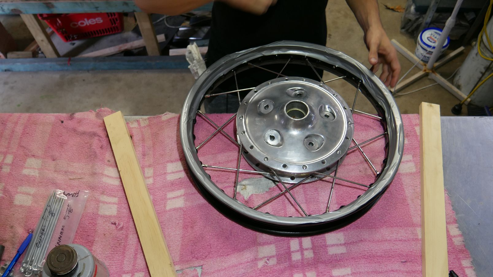 how to build spoked wheels gold coast custom motorcycle
