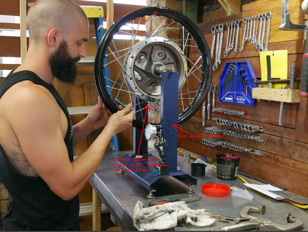how to build cafe raer wheels