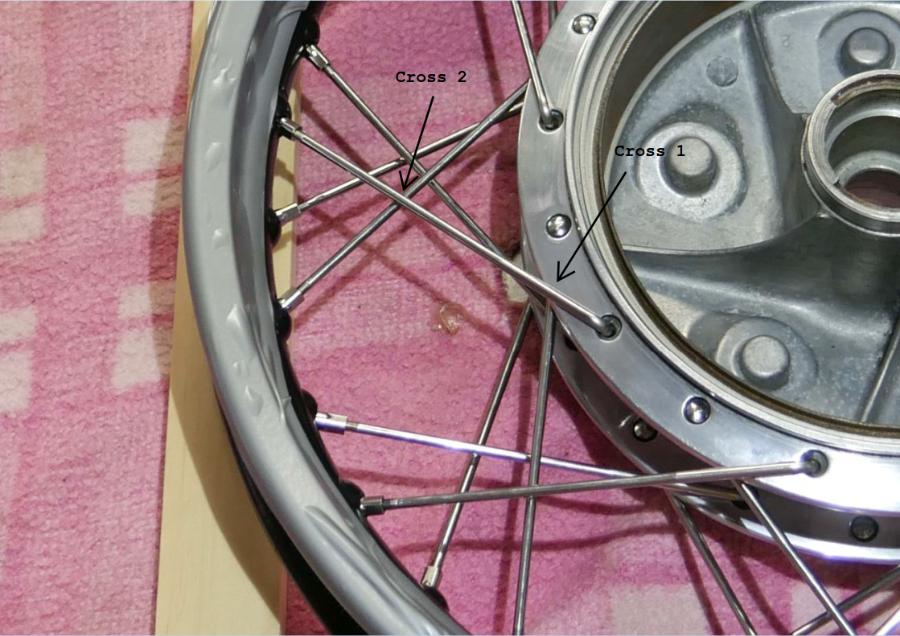 spoke wheels motorcycle cafe racer building