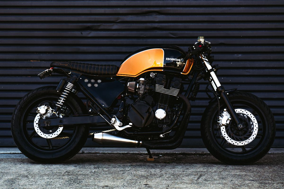 CB750 Cafe Racer Brat Style Nighthawk Honda Motorcycle Parts