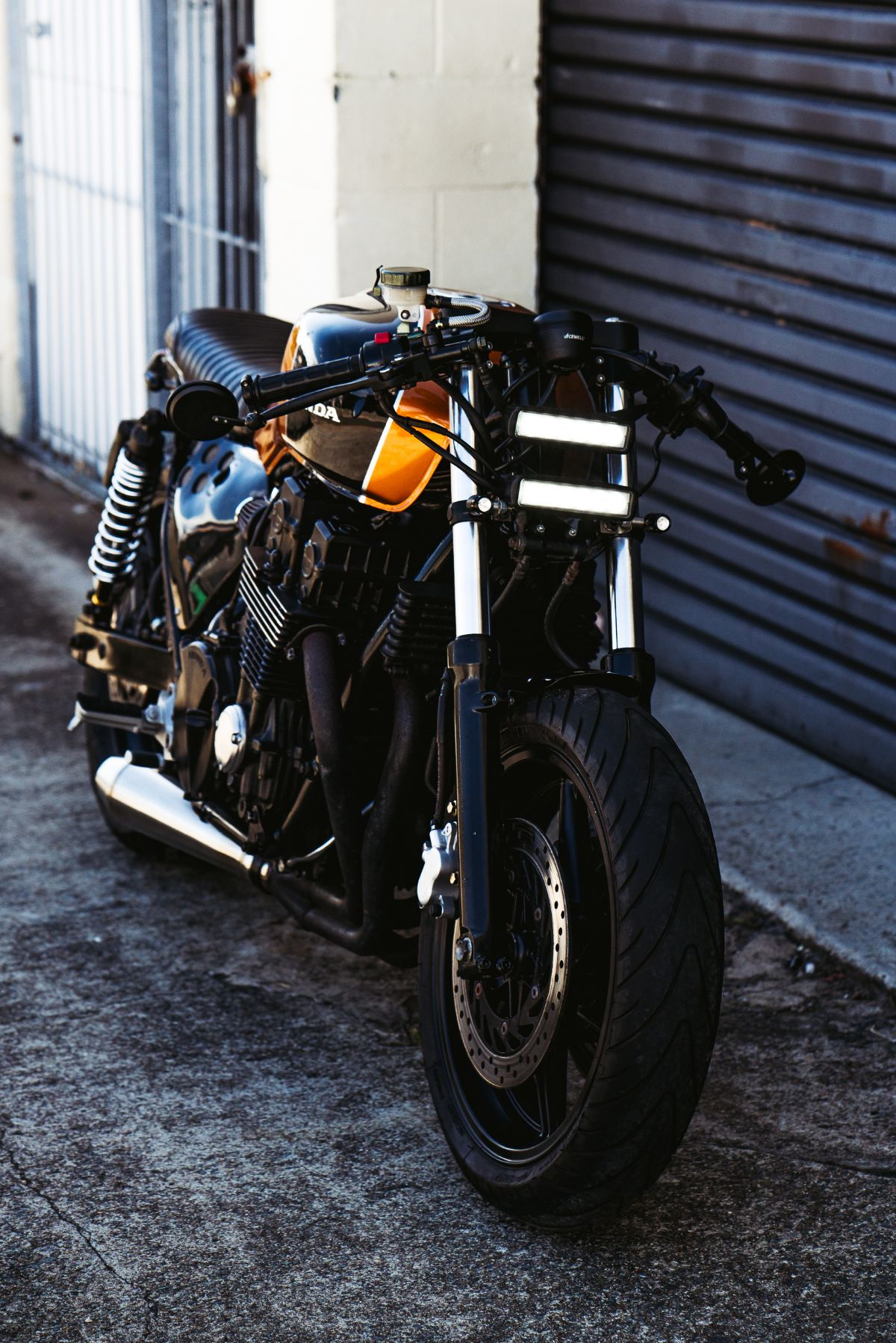 CB750 Cafe Brat Racer Street fighter custom parts and accessories