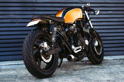 Cafe Racer Custom Honda CB750 Nighthawk Brat seat Parts and accessories
