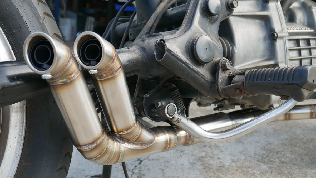 CX500 custom exhaust system cafe racer parts australia