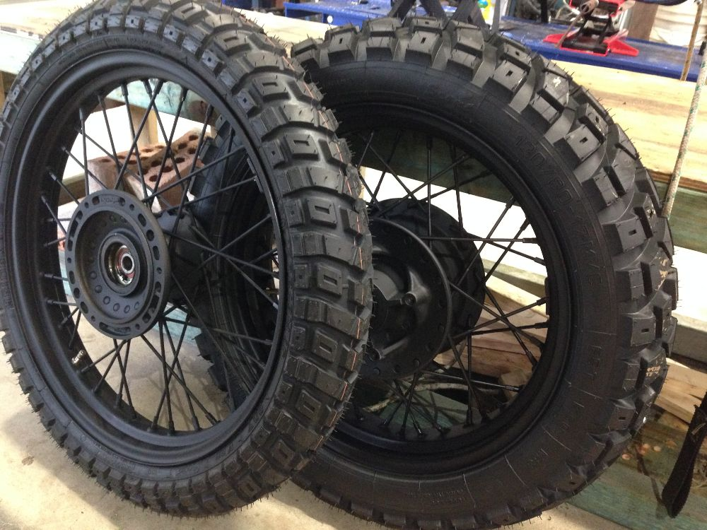 Hiedenau K60 Scout Triumph Scrambler Parts Accessories