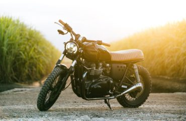 Custom Scrambler Triumph T100 Bonneville Parts Accessories Cafe Racer