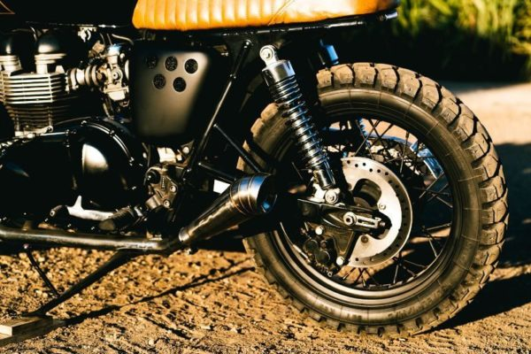 T100 Bonneville Muffler Exhaust Custom Parts Accessories