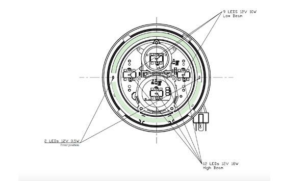 7 Inch Headlight Power Consumption