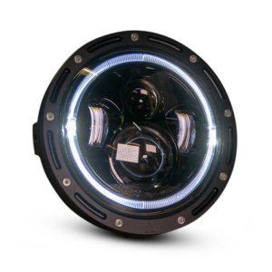 7 inch Cafe Racer LED Headlight