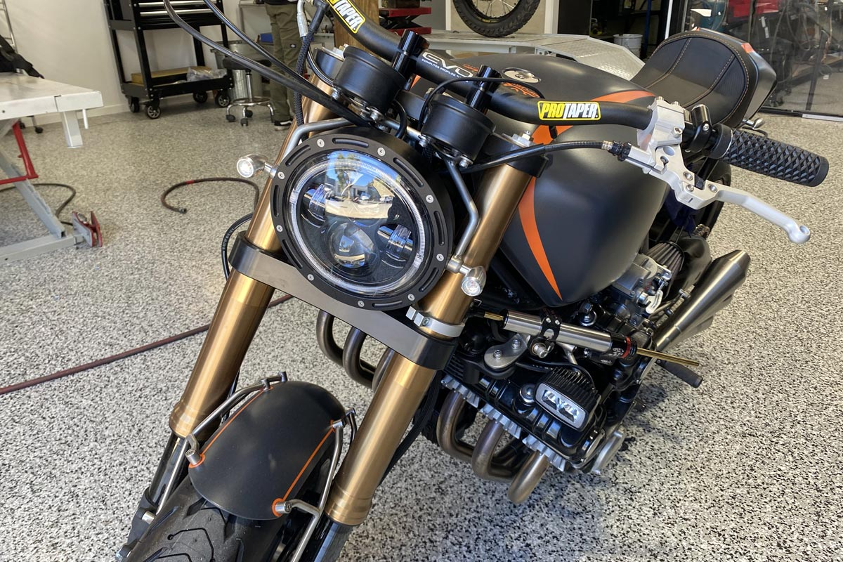High Intensity Motorcycle 7 inch Headlight