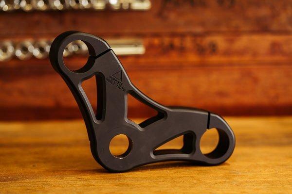 Custom CNC machined top triple clamp