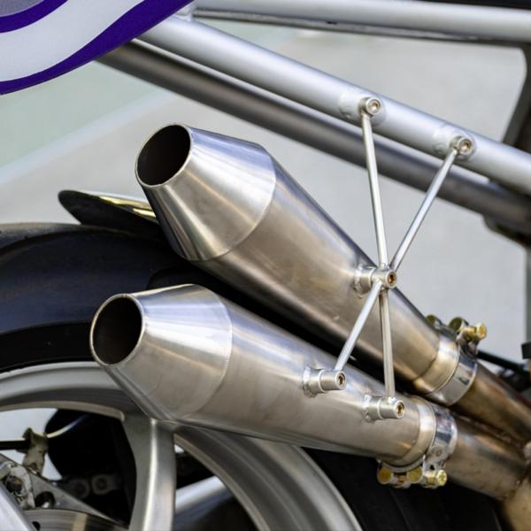 Honda Custom Motorcycle Muffler