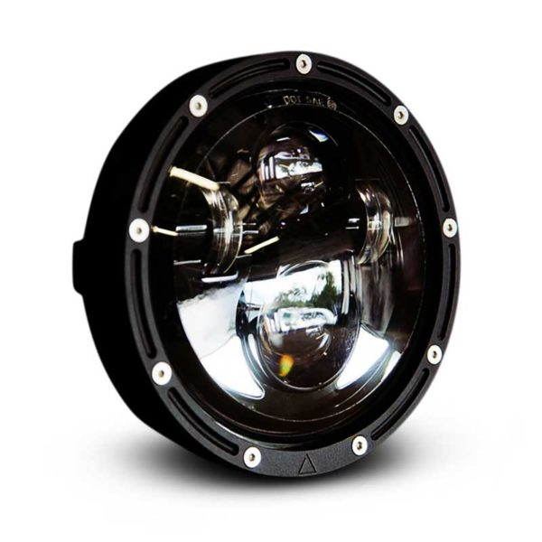 5.75 inch Cafe Racer LED Headlight