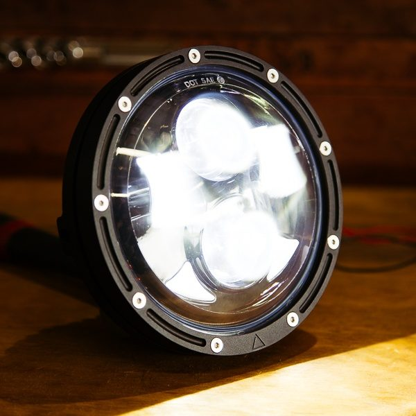 Cafe Racer Headlight Motorcycle parts LED headlight