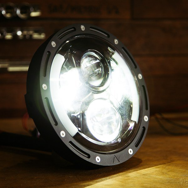 light up motorcycle wheels flashpoint high intensity 7 led motorcycle headlight purpose