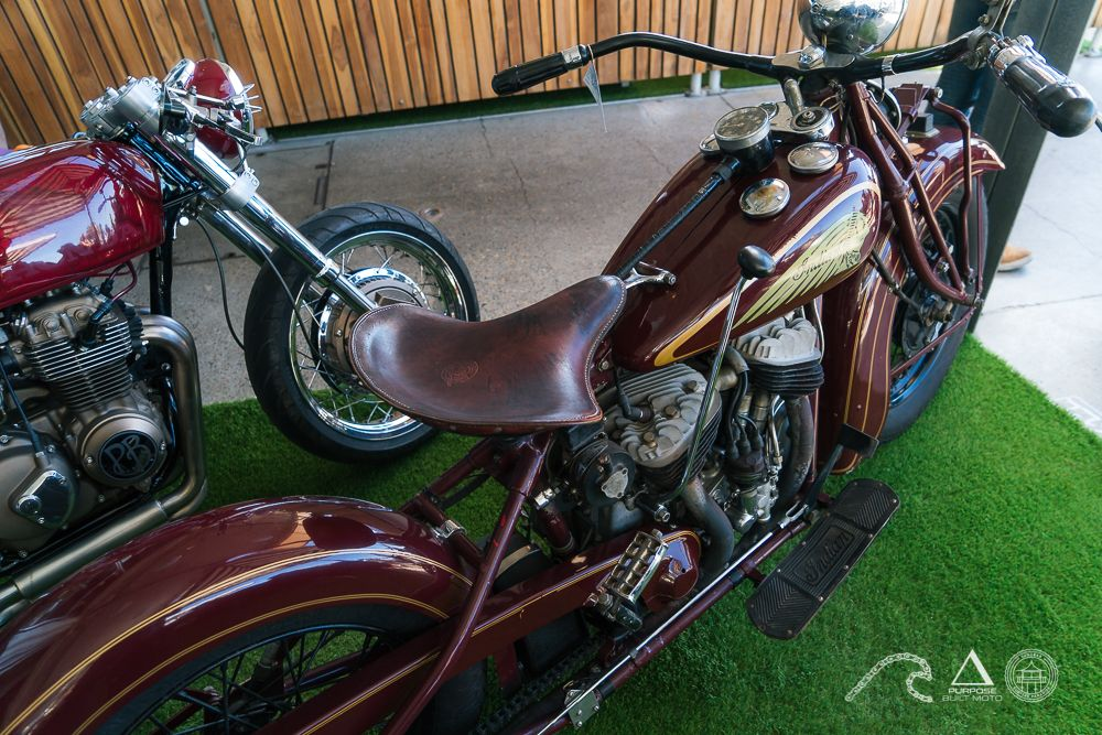 Vintage Motorcycle Gold coast