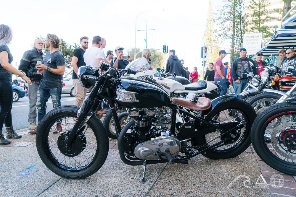 Motosocial sandbar custom motorcycle gold coast