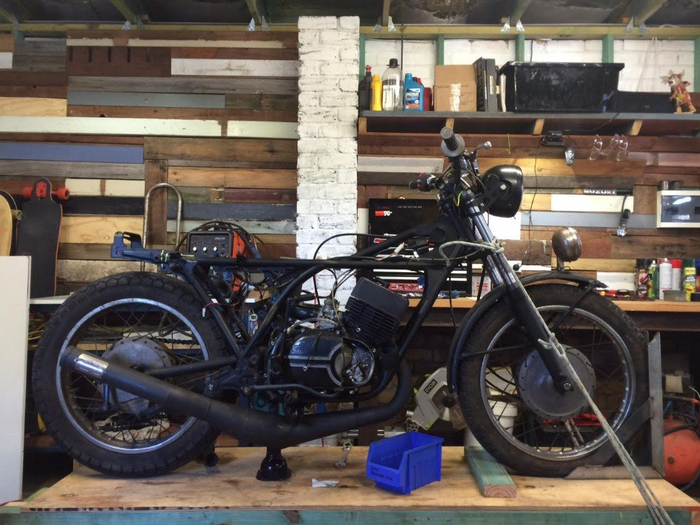 Cafe racer subframe tail hoop motorcycle parts