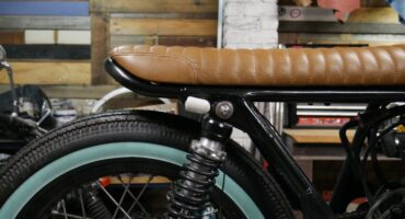 Fitting a cafe racer tail hoop motorcycle parts