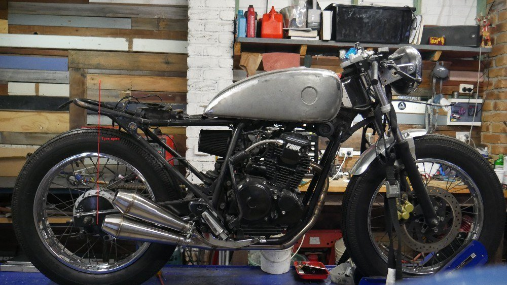 custom bike parts australia cafe racer tail hoop