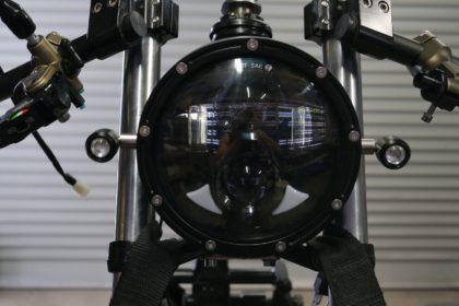 Cafe Racer install headlight LED light Custom bikes Gold Coast Australia