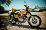 CB750 Vintage Hnd Distinguished Gentlemans ride