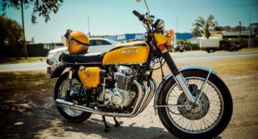 CB750 Vintage Hnd Distinguished Gentlemans ride