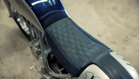 Cafe Racer custom seat Brisbane Gold coast upholstery
