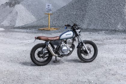 GN250 SCrambler Cafe Racer Gold Coast
