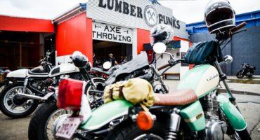 Lumberpunks GC Bike Meet Custom motorcycles classic cafe racers