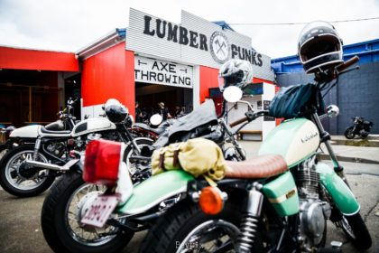 Lumberpunks GC Bike Meet Custom motorcycles classic cafe racers