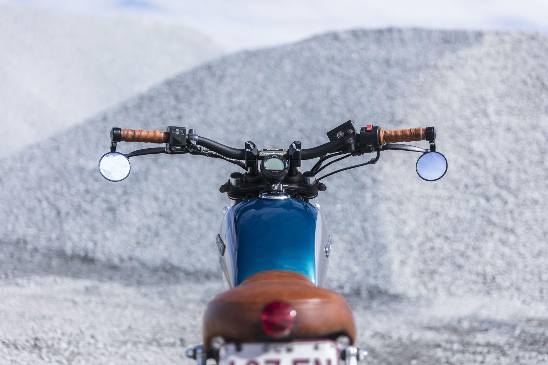 Scrambler Handlebars GN250 Purpose Built Moto