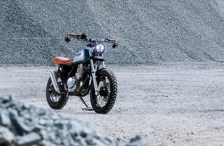 GN250 Scrambler hand built Motorcycle