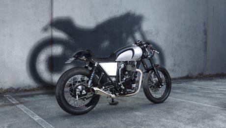 400 Cafe Racer Sol invictus Australia motorcycle parts LED lights custom motorcycle gold coast