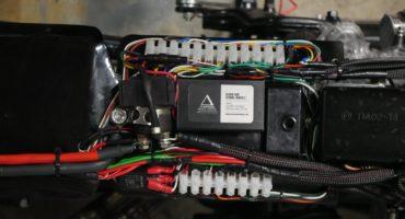 push button flasher module