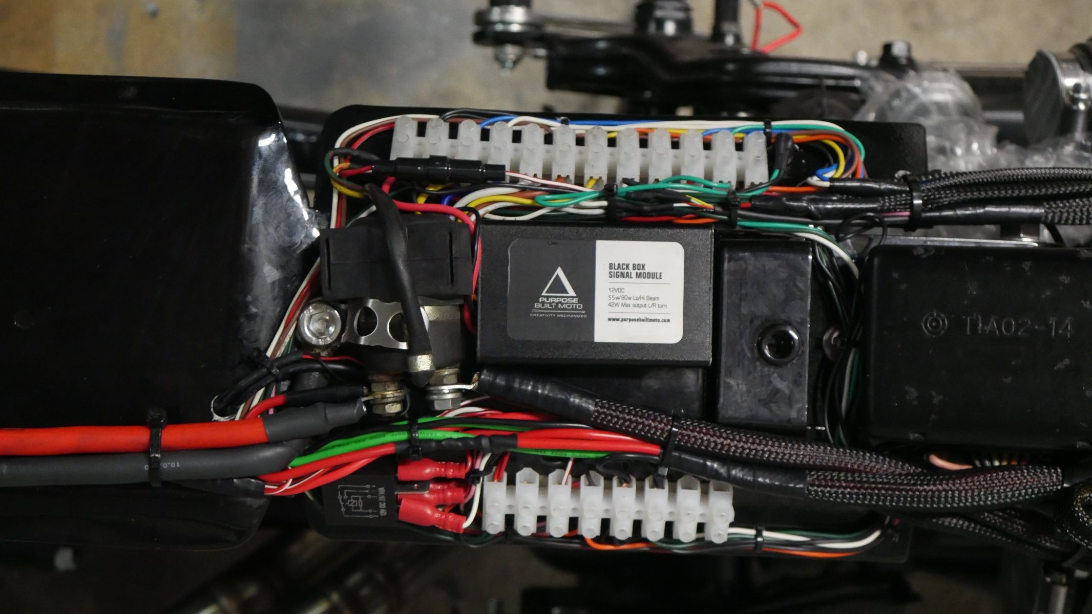 top 5 wiring mistakes to avoid when wiring your custom bike.  purpose built moto